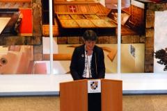 Die Oberbürgermeisterin, Frau Brigitte Merk-Erbe, begrüßte die Gäste