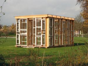Kunst-Pavillons auf der Landesgartenschau