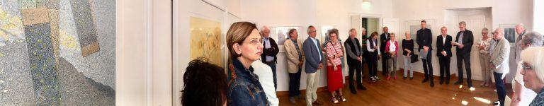 95. Kabinettausstellung des Kunstvereins Bayreuth e.V.: Axel Krüger - Schichtungen